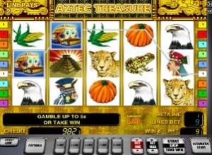 игровой слот сокровища ацтеков