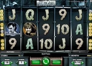 игровой автомат Frankenstein Франкенштейн