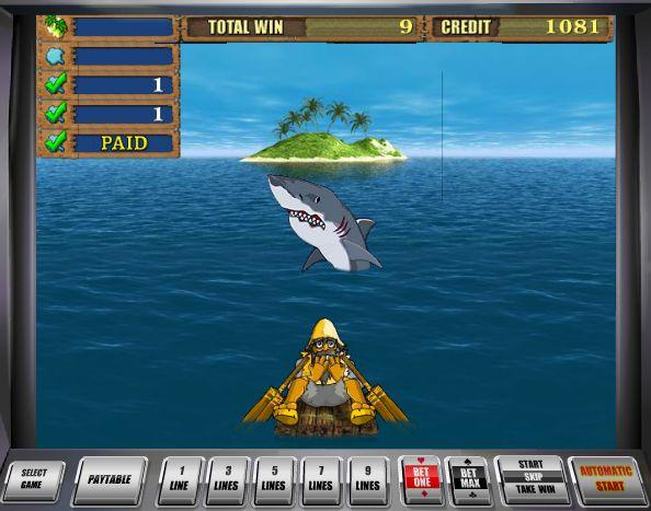 бонусная игра слота Остров 2