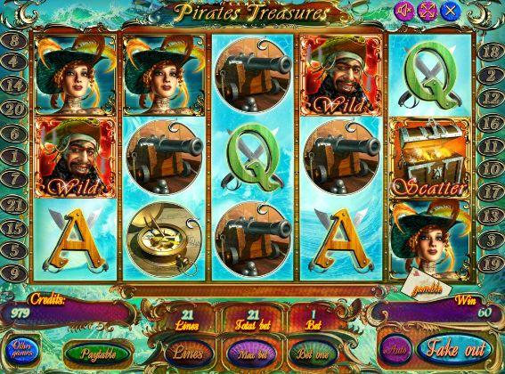 Игровые автоматы сокровище пиратов игровые автоматы отучиться