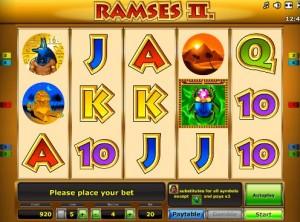 Игровой автомат Рамзес 2 Делюкс