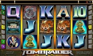 игровой автомат Tomb Raider Лара Крофт